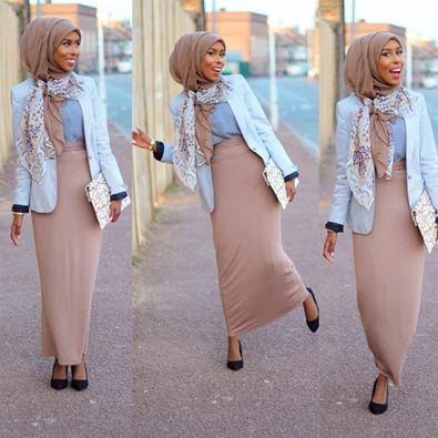 Basma K. Styles Muslimah & Hijab fashion