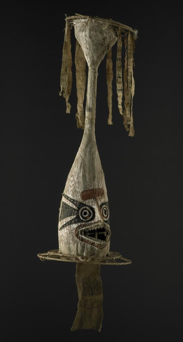 Object: Eharo, dance mask | Collections Online - Museum of New Zealand Te Papa Tongarewa