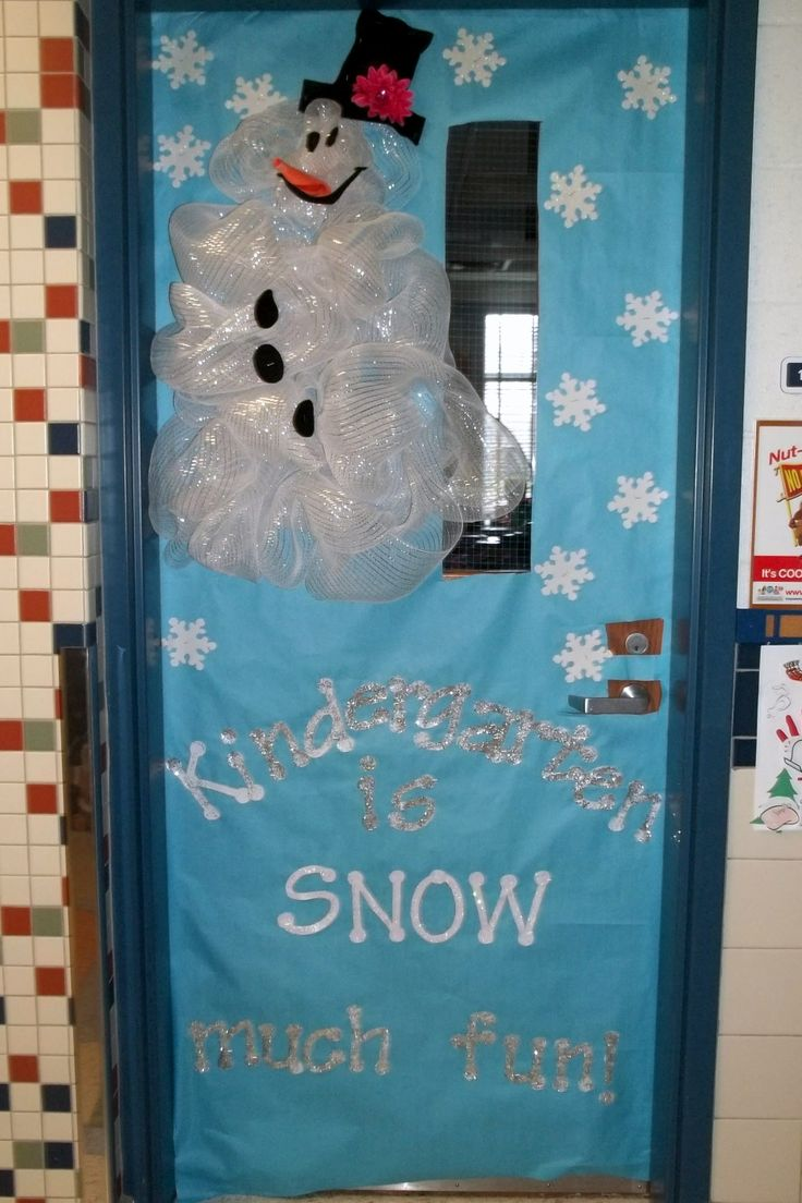 Winter Classroom Door- Snowman & 23 best School- Winter Doors images on Pinterest | Classroom door ...