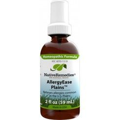 Formulated by Native Remedies' team of experts in natural medicine, AllergyEase Plains is a FDA-registered OTC homeopathic medicine that naturally offers fast-acting relief of seasonal allergy symptoms such as itchy, watery eyes, sore throat, runny nose, sneezing and congestion.