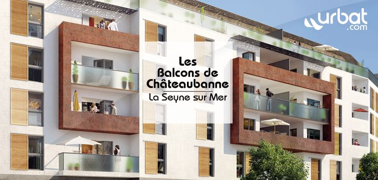 Les Balcons de Chateaubanne (La Seyne-sur-Mer - 83500) Détails : http://www.urbat.com/immobilier-neuf/achat/logement.cfm/provence-alpes-cote-d-azur/var/les-balcons-de-chateaubanne-immo-la-seyne-sur-mer-83-11192 Contact : http://www.urbat.com/includes/cfm/formRendezVous.cfm?p=11192
