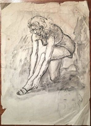 Image result for balthus ink illustrations