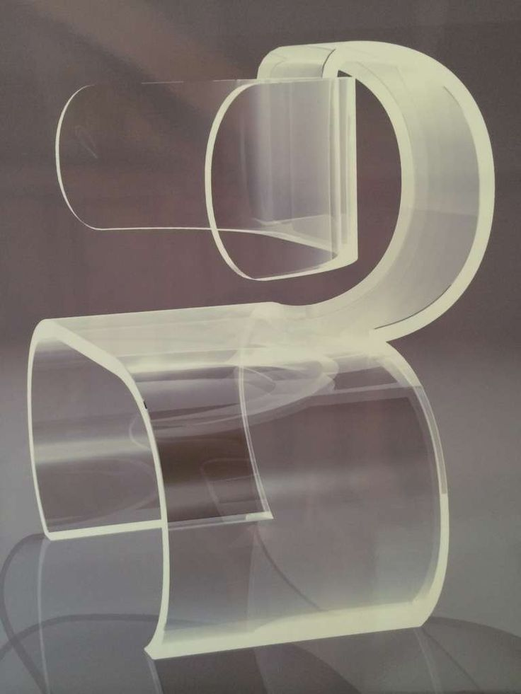 """Lombard"" Lucite Chairs by Charles Hollis Jones"