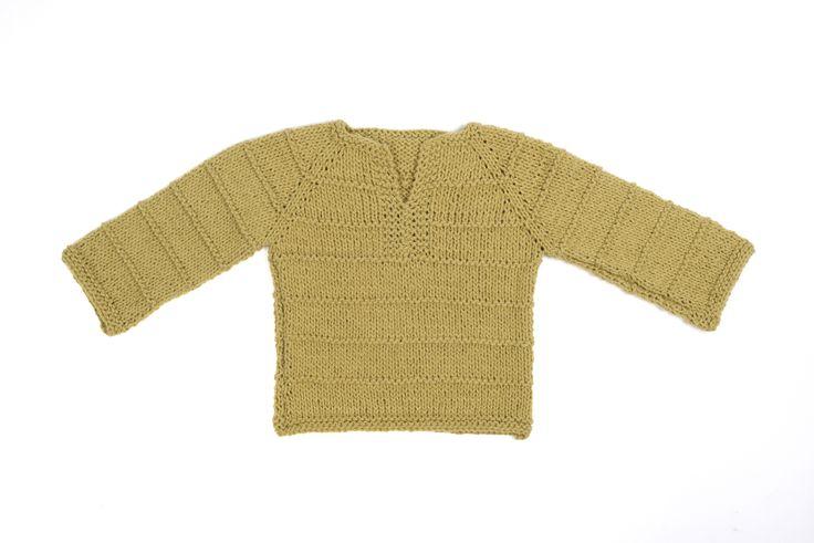 50% algodón 50% lana de oveja www.mumaknits.com