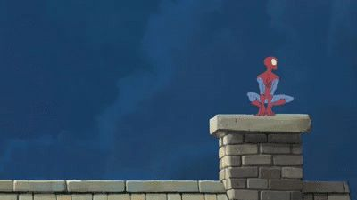 Spider-Man In Kansas - Animated Gif