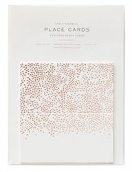 From the Spring/Summer 2016 Rifle Paper Co. collection, Champagne Place cards.  Perfect for Summer weddings and parties.