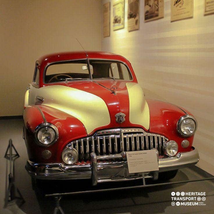 A 1946 Buick 50 Super Series Sedan! #vintagecars #vintagecollection #heritagetransportmuseum #incredibleindia