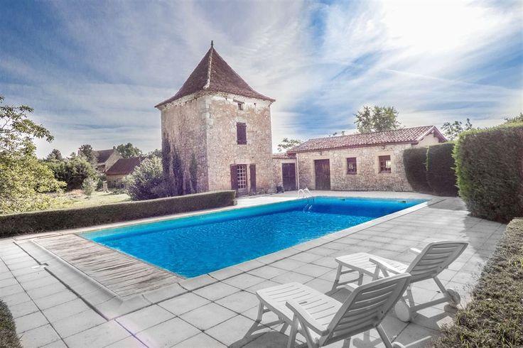 Vente Maison / Villa Dordogne-perigord Sarlat - Cenac Et Saint Julien ferme renovee avec piscine - Coldwell Banker