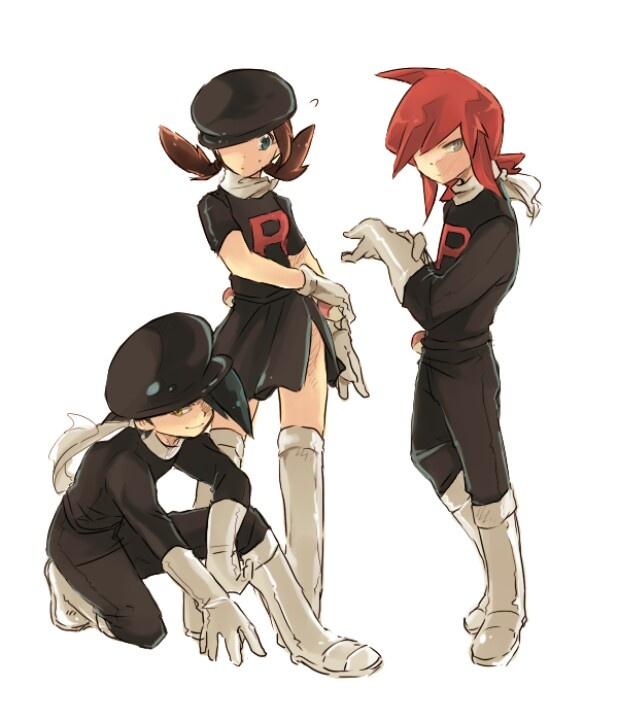 Team Rocket disguises<<<Dear followers following me for other boards and don't have anything to do with Pokemon,  Im so sorry