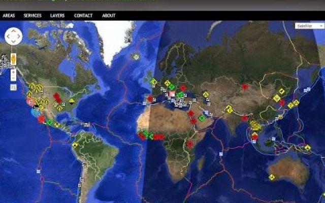 Calamità naturali, terremoti, epidemie in tempo reale su Google Maps #terremoti #calamità #mappa #mondiale