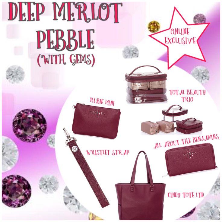 Deep Merlot Pebble! Thirty-One Online Exclusive! Holiday gift guide Fall 2017 www.mythirtyone.ca/sabrinawhite