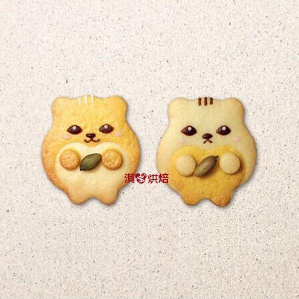 烘焙模具 卡通饼干模具 动物形状不锈钢饼干模/切模  仓鼠小蛋糕