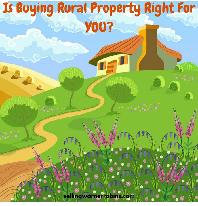 Is Buying Rural Property Right For YOU? See These Tips For Buying a Rural Property and Going About Picking a Neighborhood: http://sellingwarnerrobins.com/tips-to-purchase-rural-property/