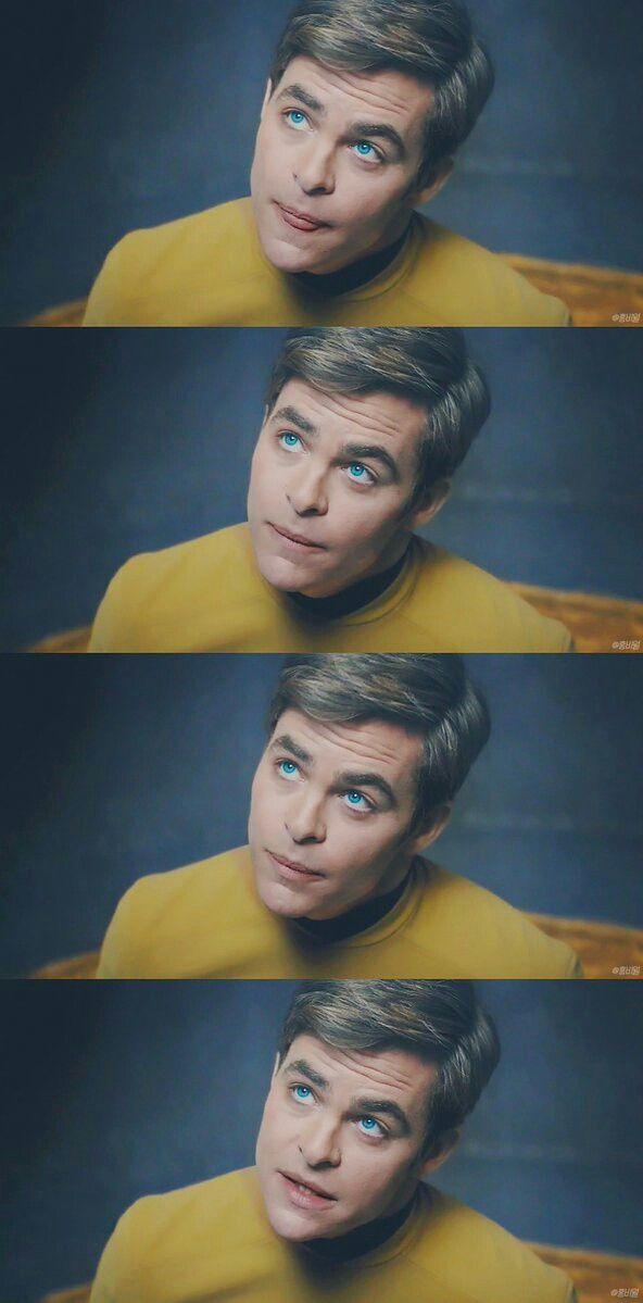 "Captain James T. ""Angel"" Kirk <3"