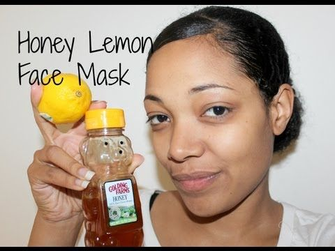 Skin therapy- Honey and lemon face mask