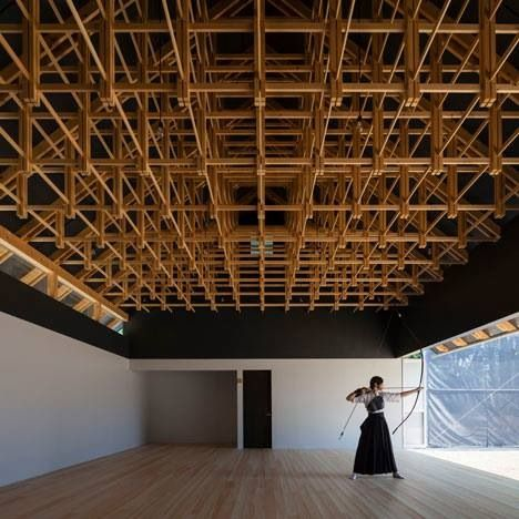 Japan wood architecture.