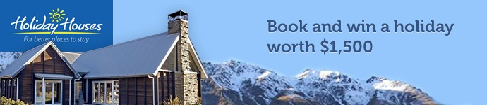 New Zealand holiday homes, baches and vacation homes for rent.