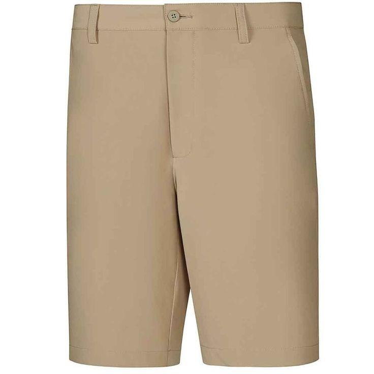 FOOTJOY Shorts BEIGE 41 Mens GOLF Flat FRONT Size POLYESTER Spandex SZ Short MAN #FootJoy #FlatFront