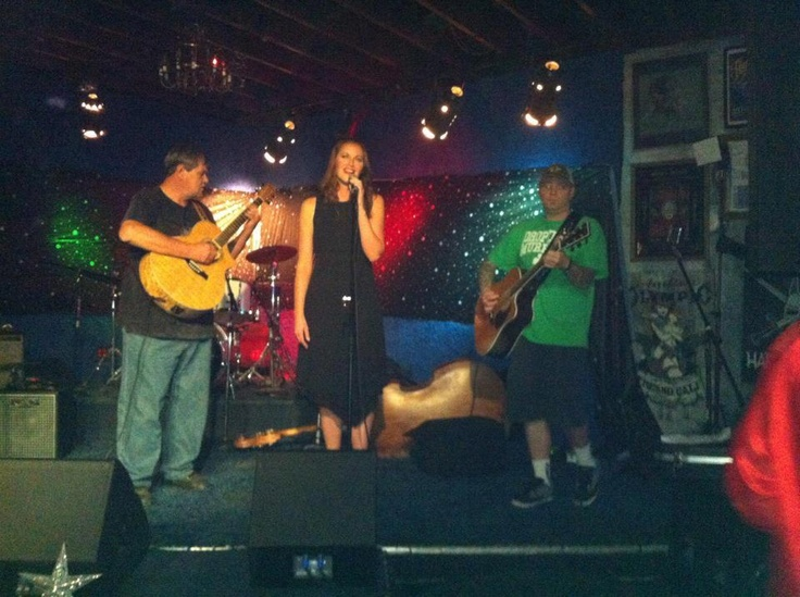 Singing with Mike Keeney Sr. and Jr. @ Audie's Olympic Tavern, Elvis Tribute Show