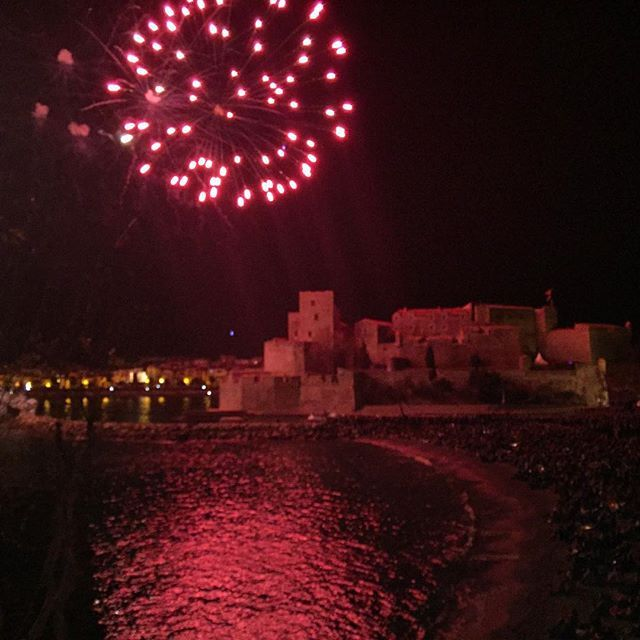 @richardtswallow New Year #collioure