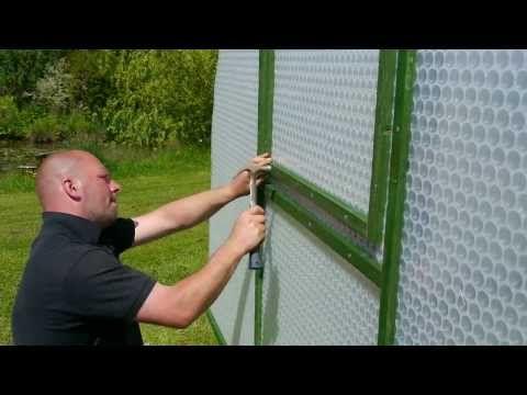 Building a Keder Greenhouse kit. www.kedergreenhouse.co.uk - YouTube
