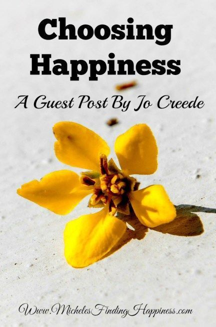 Choosing Happiness - Michele's Finding Happiness