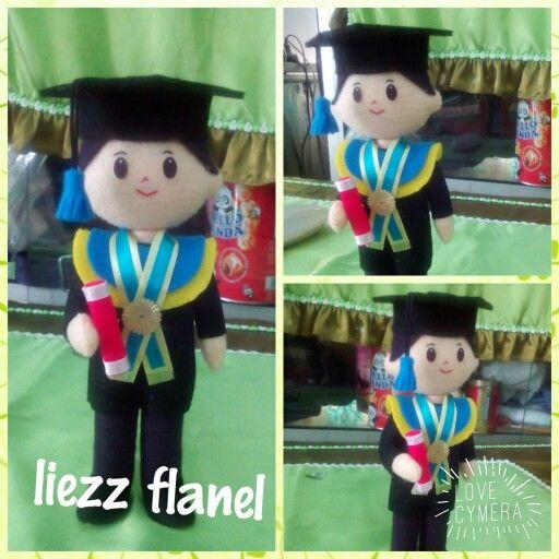 Graduation doll...