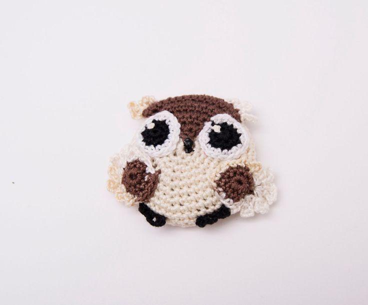 Vistoso Crochet Rellenas Modelo Del Búho Cresta - Ideas de Patrones ...