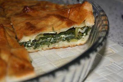 Turcja od kuchni: Börek ze szpinakiem i serem