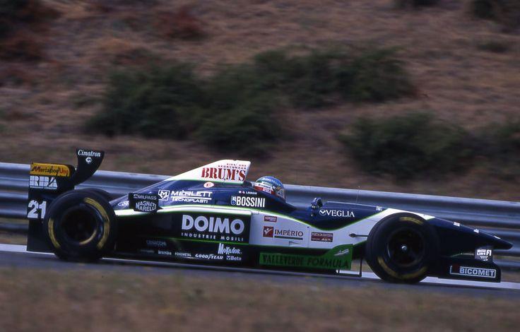 1996 Giovanni Lavaggi (ITA) (Minardi Team), Minardi M195B - Ford ED2/ED3 3.0 V8