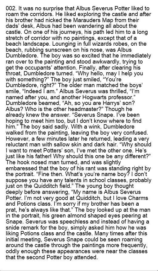 Albus Severus Potter - hp next generation - Harry Potter Head Canons.