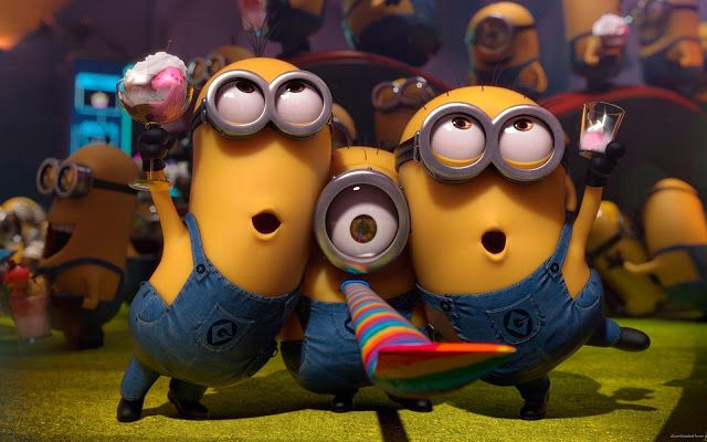 Despicable Me Minion Wallpaper Partying Up More Like This Hd Wallpapers For Pc Mobile To Spice Your Home Screen