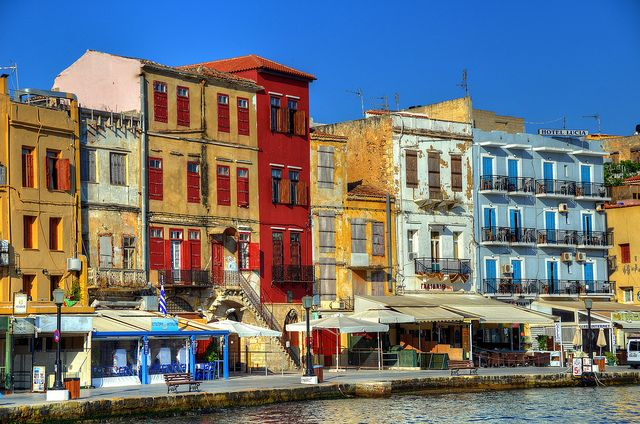 Chania, Crete = some of the best food in the ENTIRE WORLD!!
