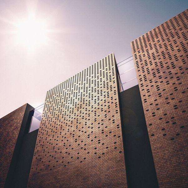 Library in Wrocław by Klawe Biuro,