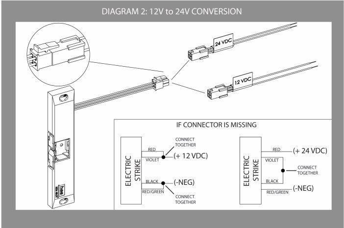 Schematic Electric Door Strike Wiring Diagram