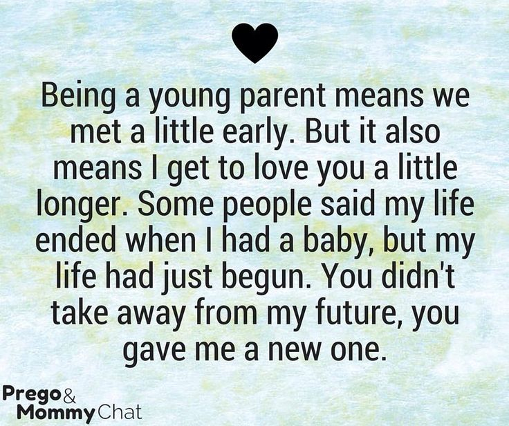 Being A Young Mom Quotes And Sayings 22557 Movieweb