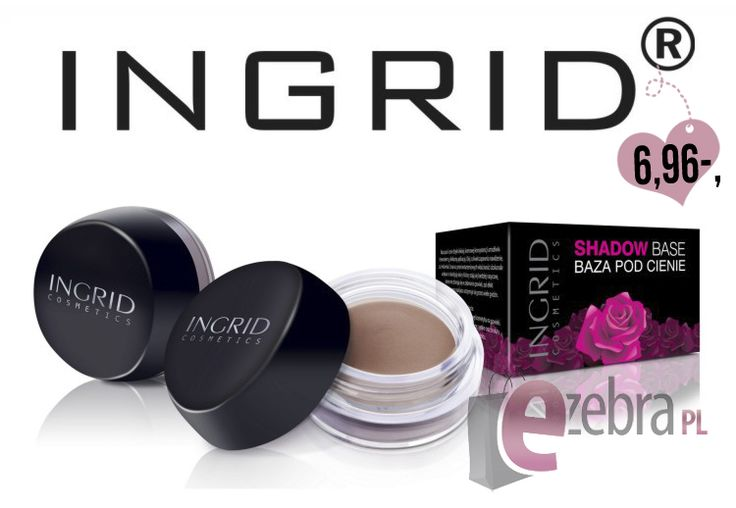Często pomijanym elementem makijażu, a niezwykle ważnym (zwłaszcza przed większym wyjściem!), jest aplikacja bazy pod cienie do powiek. Dzięki niej kolory cieni staną się bardziej nasycone, a nasz makijaż będzie intensywniejszy i utrzyma się na naszej twarzy przez całą noc! :)  #makijaż #makeup #ingrid