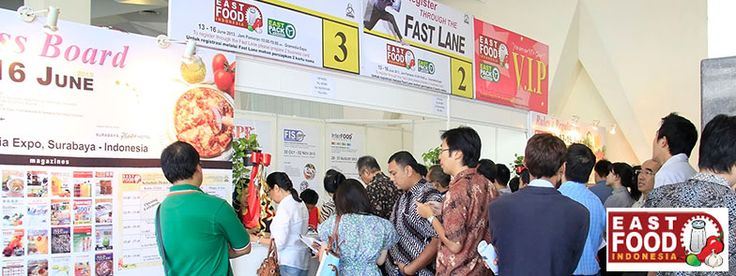 East Food Indonesia 2015 - The 7th International Exhibition on Food & Beverage Products, Ingredients, Technology and Services #expoindonesia