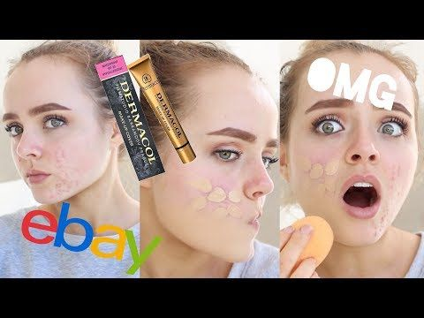 EXTREME COVERAGE EBAY FOUNDATION?? | DERMACOL MAKEUP COVER REVIEW | Conagh Kathleen http://makeup-project.ru/2017/06/23/extreme-coverage-ebay-foundation-dermacol-makeup-cover-review-conagh-kathleen/