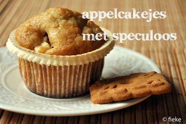 Appelcakejes met Speculoos