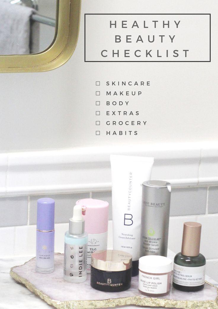 Healthy Beauty Checklist Healthy Beauty Dry Skin Body Find Beauty
