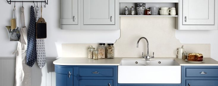Langton painted inframe kitchen from Units Online