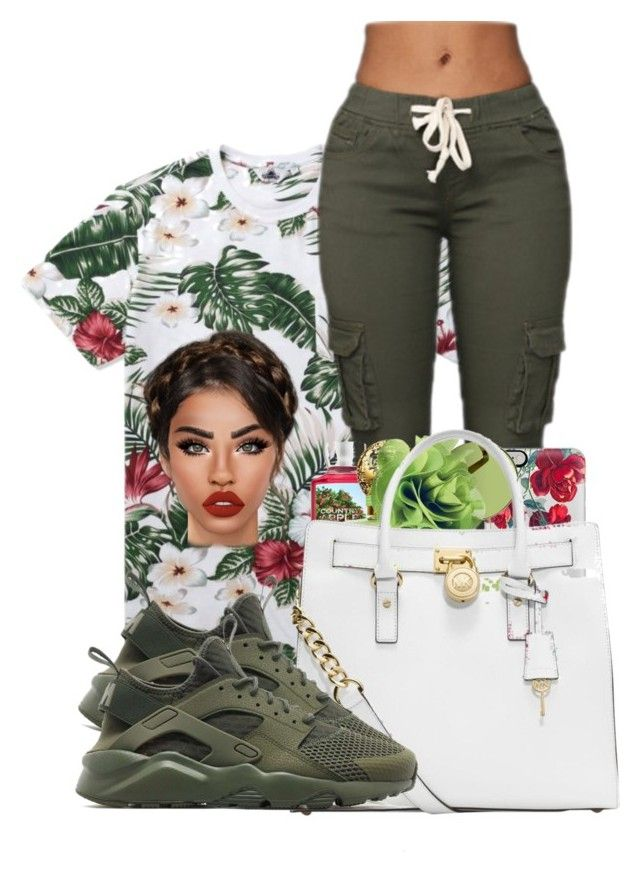 """""""roses"""" by ballislife ❤ liked on Polyvore featuring Penfield, Casetify, Victoria, Victoria Beckham, Coach, NIKE and Lime Crime"""