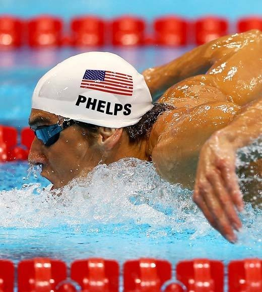Michael Phelps makes history July 31st, 2012    With a silver medal in the 200m Butterfly and a gold medal in the 4x200 Freestyle relay, Michael Phelps becomes the most decorated Olympic athlete of all time -- man or woman, across all sports, all countries, Winter or Summer, with 19 medals. He still has three events left to swim.