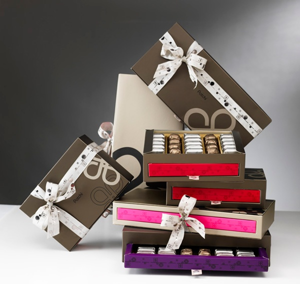 Patchi chocolate boxes