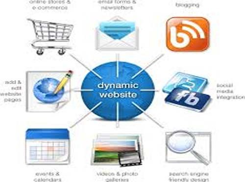 A server-side dynamic web page is a web page whose construction is controlled by an application server processing server-side scripts. In server-side scripting parameters determine how the assembly of every new web page proceeds, including the setting up of more client-side processing.