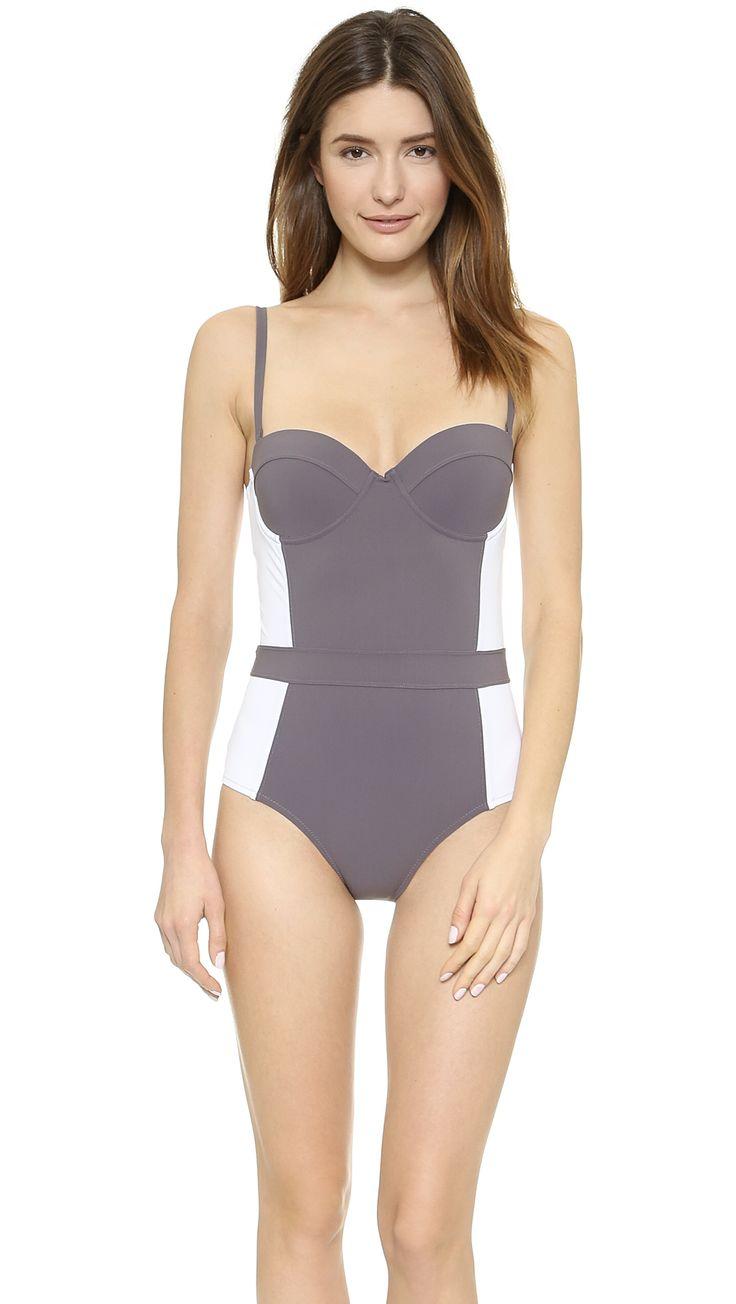 Tory Burch Lipsi One Piece Swimsuit