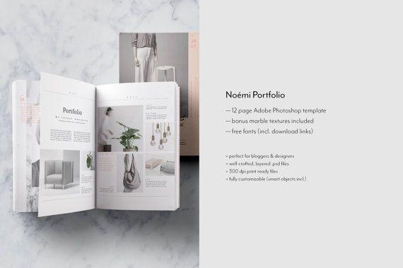 Editorial PSD Portfolio & Magazine / Lookbook by NonolaBoutique