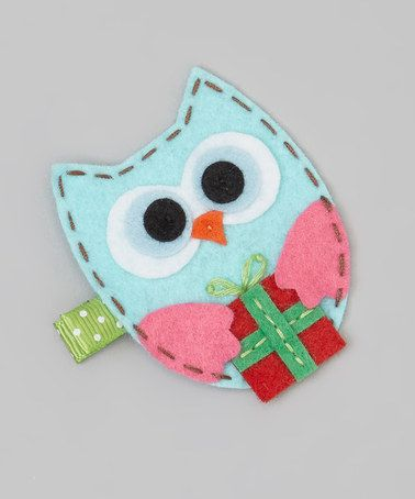 Take a look at this Blue Owl Clip by Snuggle Bug Kidz on #zulily today!