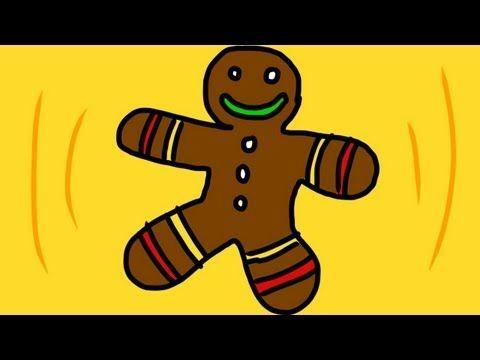 Gingerbread Man Song (Run, run as fast as you can!) - YouTube